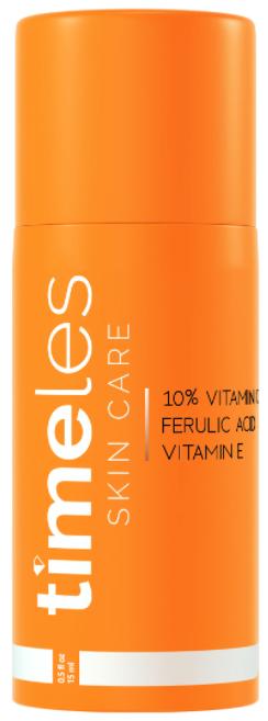 Timeless Skin Care 10% Vitamin C+E Ferulic Acid Serum сыворотка для лица 15мл