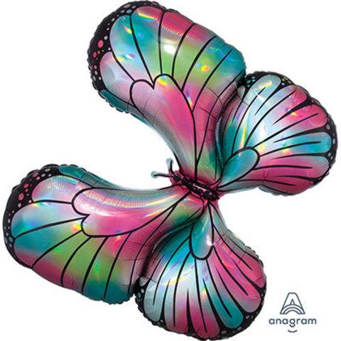 Шар фигура Бабочка переливы перламутр