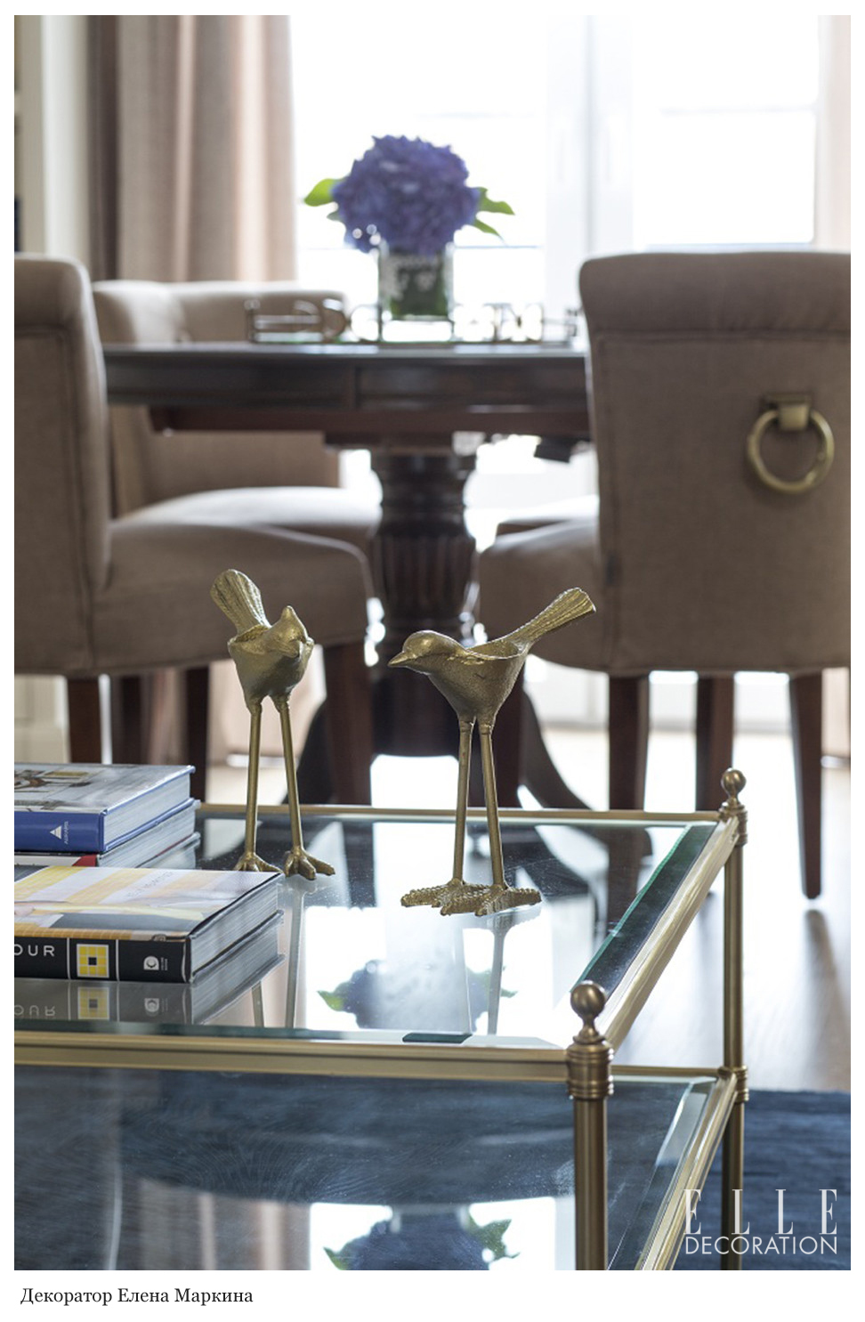 Обеденный стул Eichholtz 105082 Key Largo в интерьере