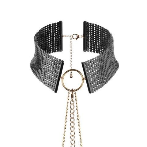 Ошейник с цепочками Bijoux Indiscrets - Desir Metallique Collar