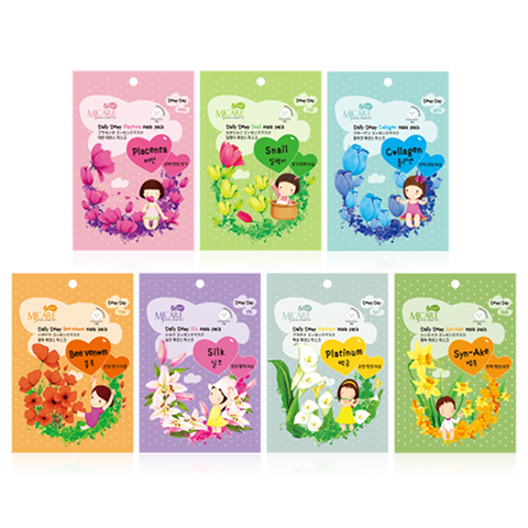 Mijin Cosmetics Mj Care Daily Dewy Silk Mask Pack тканевая маска для лица