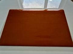 Скатерть коричневая индивидуального размера