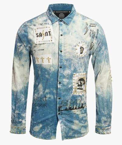Рубашка The Saints Sinphony CONCERT TRUCKER BUTTON UP