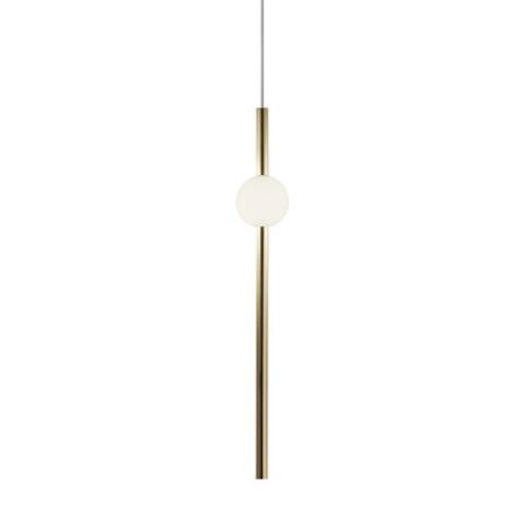 Подвесной светильник копия ORION GLOBE by Lee Broom H90 (вертикальный, золотой)