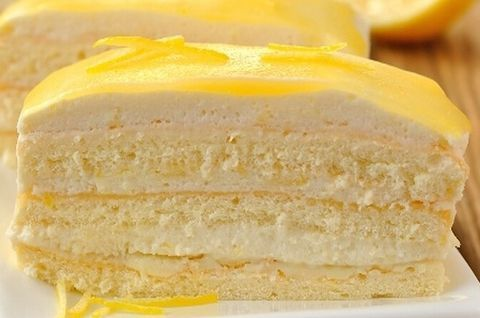 Лимонный безглютеновый торт