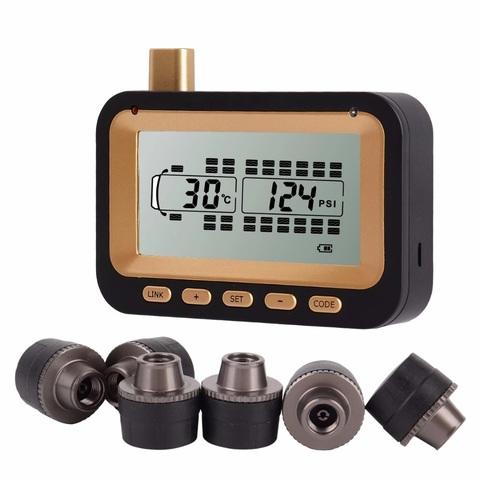 Система контроля давления в шинах TP534E c внешними датчиками для грузовиков и прицепов (до 34 шин), интерфейс RS232