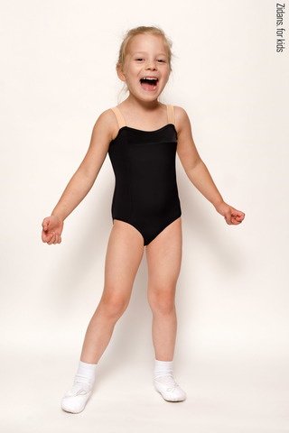 Strap leotard for kids | basic