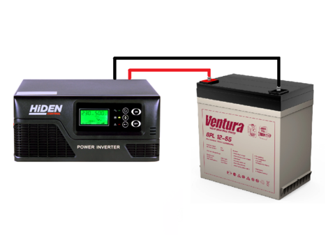Комплект ИБП HIDEN CONTROL HPS20-0412+VENTURA GPL 12-55