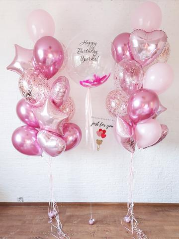 Купить воздушные шары девушке