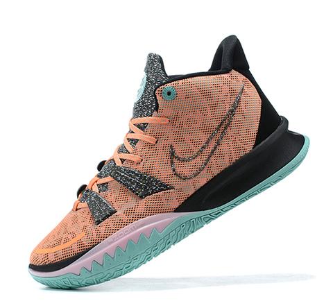 Nike Kyrie 7 'Light Orange/Black/Green'