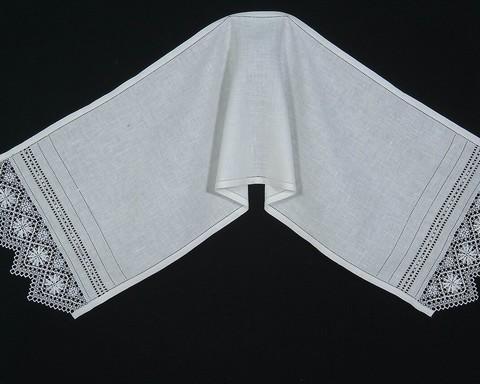 Свадебное полотенце - рушник с вышивкой нижегородский гипюр