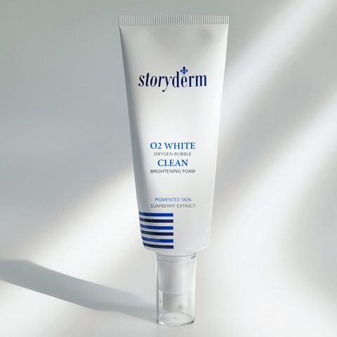Storyderm Кислородная маска для глубокого очищения O2 White Clean_