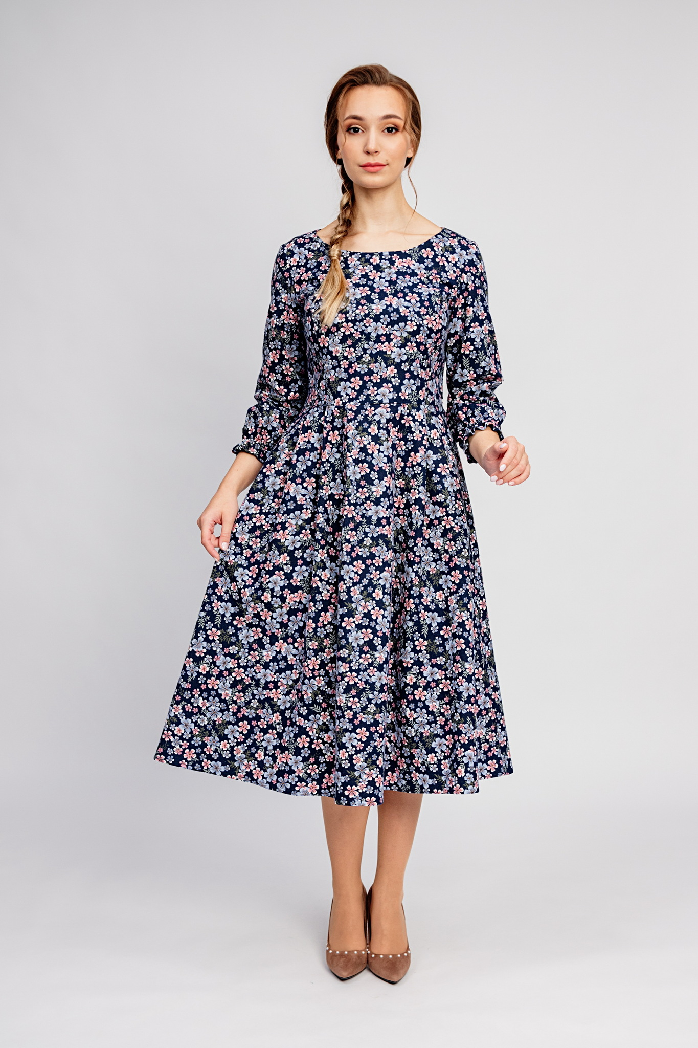 Тёплое платье купить