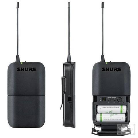Двойные комплекты Shure BLX188E/MX53