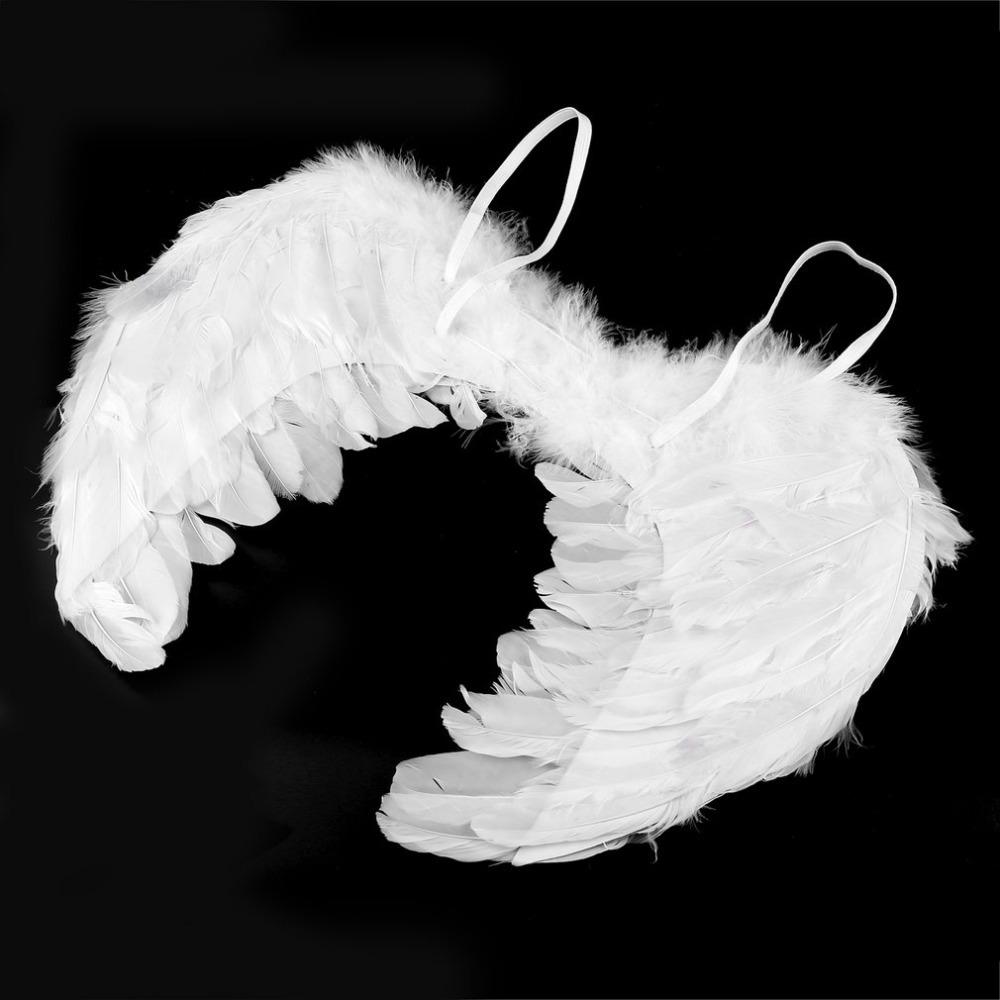 Крылья ангела белые средние