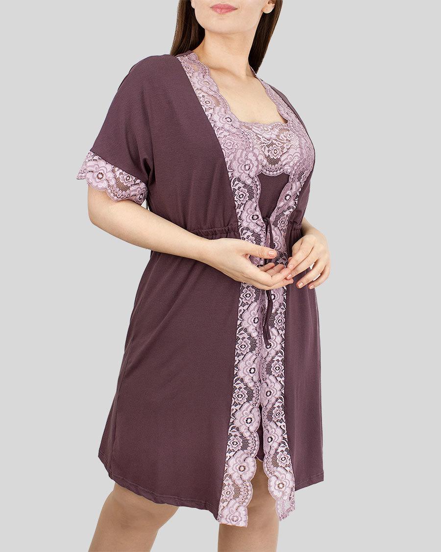 Лилия Пеньюар женский с сорочкой
