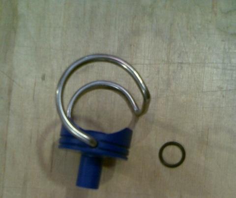 13246012 Ниппель вакуумный с ответной частью диа.38 мм