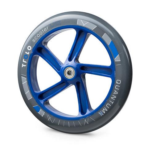 Колесо с подшипником Trolo Quantum II 230 мм синее