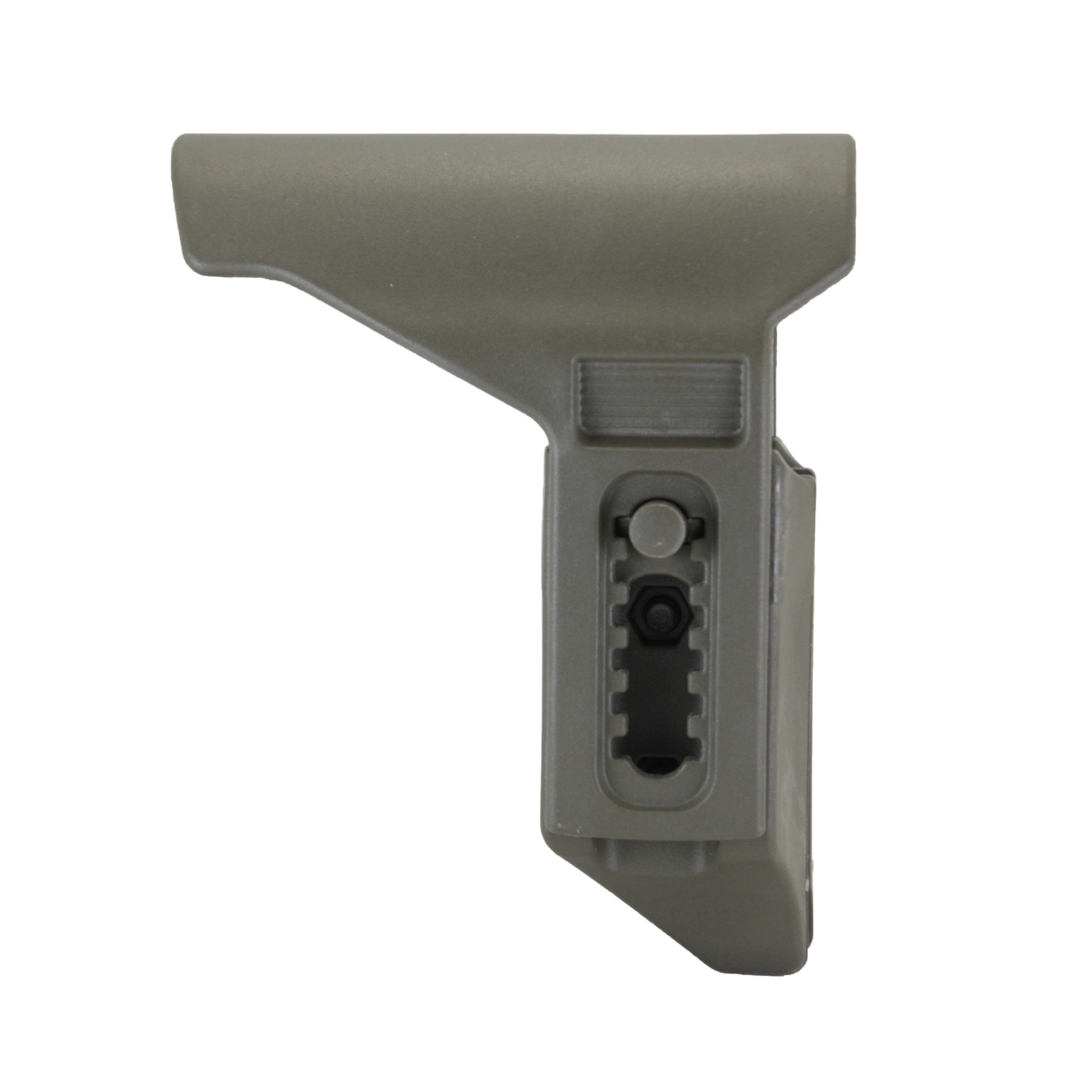 Короткий подщечник для AR для приклада TBS Compact, DLG Tactical - оливковый цвет