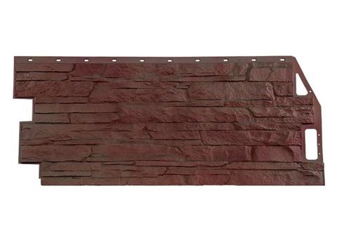 Фасадная панель Скала  Жёлто-Коричневый