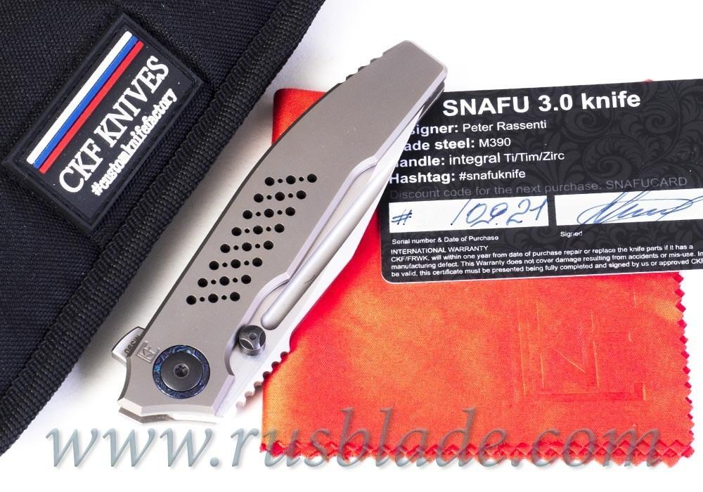 CKF/Rassenti SNAFU 3.0 B collab knife