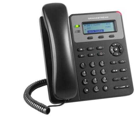 Grandstream GXP1615 - IP телефон. 2 SIP аккаунта, 2 линии, нет подсветки экрана, PoE