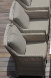 Кресло из искусственного ротанга Besta Fiesta Тоскана
