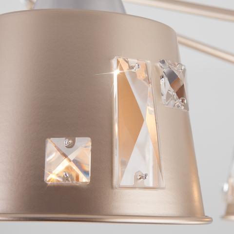 Потолочная люстра в стиле лофт 70105/8 шампань