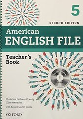 AM ENGLISH FILE  2ED 5 TB+TEST&AS.CD-ROM