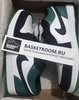 Air Jordan 1 Low 'White/Black Mystic Green' (Фото в живую)