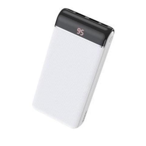 Внешний аккумулятор HOCO J59A 20000mAh 2.0A 2USB/Type-C белый (1/44)