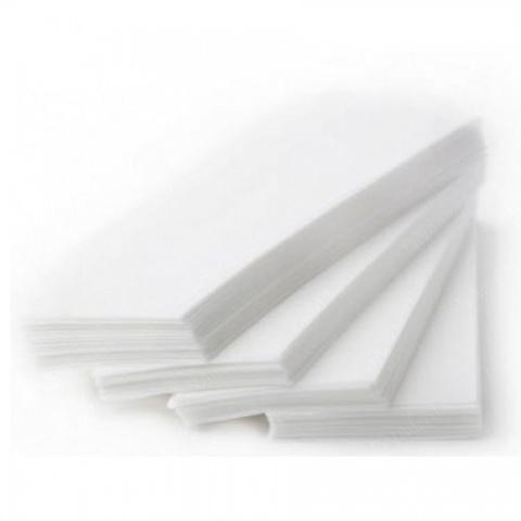 Бумажные полоски Белые  50шт.