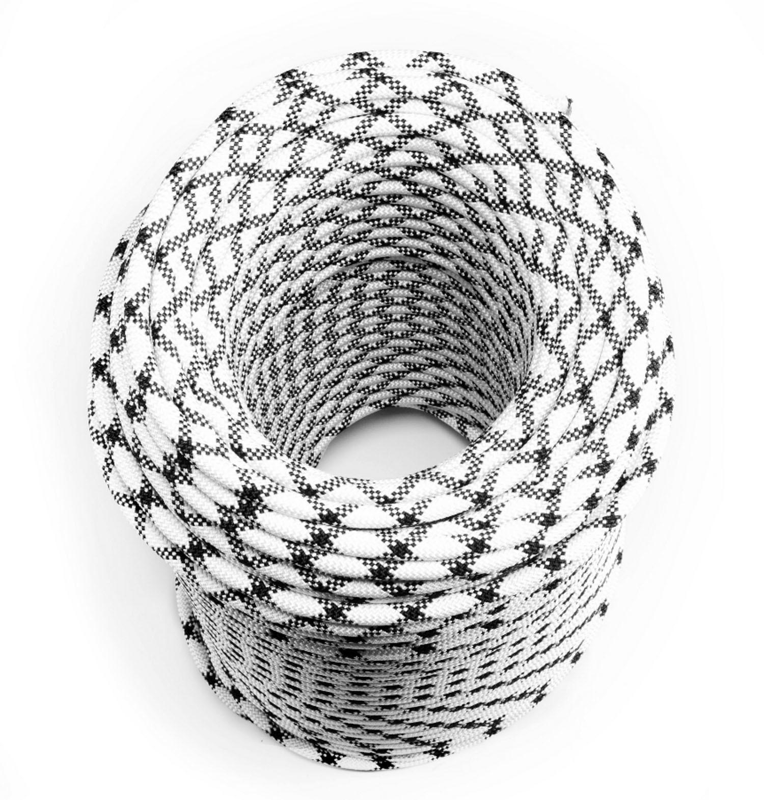 Веревка страховочная статическая 11 мм 48-прядная