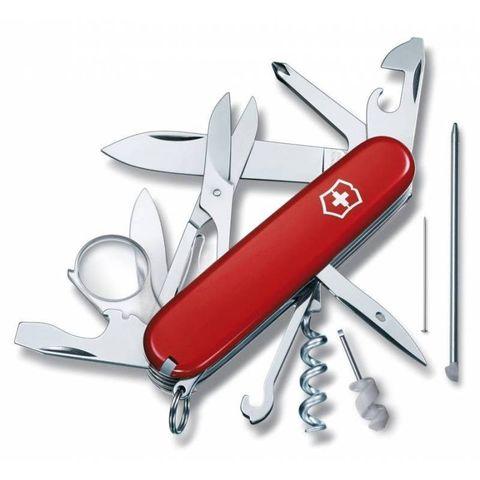 Нож перочинный Victorinox Explorer (1.6705) 91мм 19функций красный