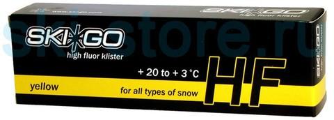 Картинка клистер Skigo HF Klister Yellow +20/+3, 60 г  - 1