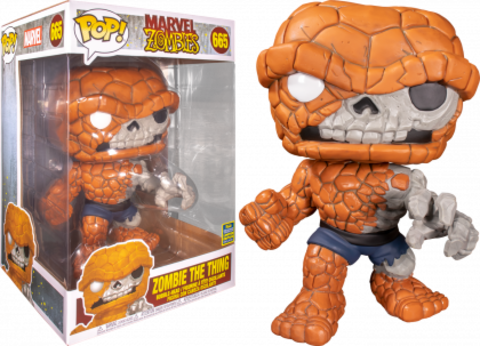 MEGA Funko POP! SDCC 2020: MARVEL Zombies Zombie The Thing 10' 665 (Exc) || Зомби-Существо