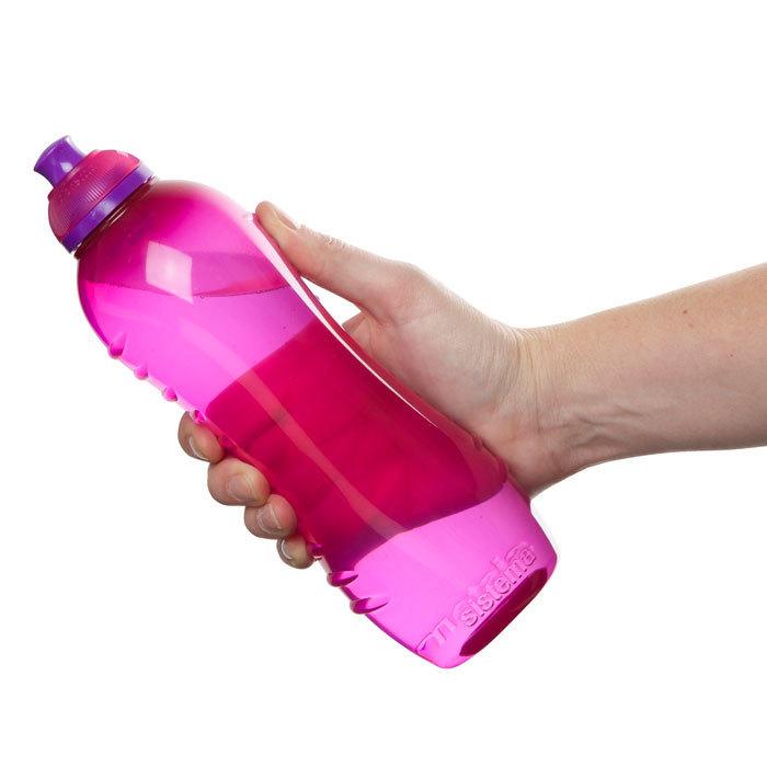 """Бутылка для воды Sistema """"Hydrate"""" 620  мл, цвет Розовый"""