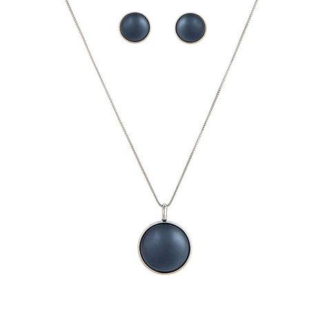 Комплект pearl black agate S1565.4 BW/S