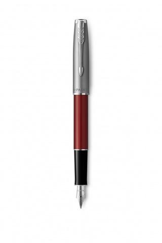 Перьевая ручка Parker Sonnet Entry Point Red Steel в подарочной упаковке123