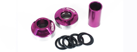 BMX Каретка Colony MID BB Kit 19mm Purple