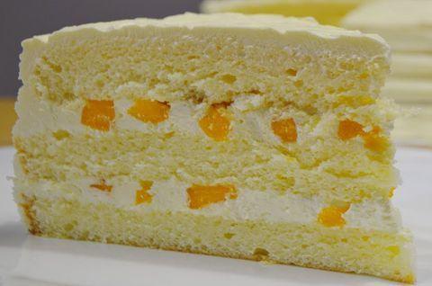 Кусок Лимонного торта без глютена
