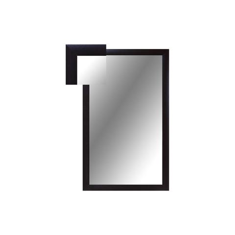 Зеркало настенное Attache (1000x600 мм, венге)
