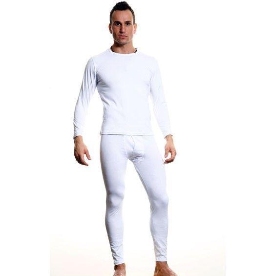 Мужская нательная кофта белая Calvin Klein white