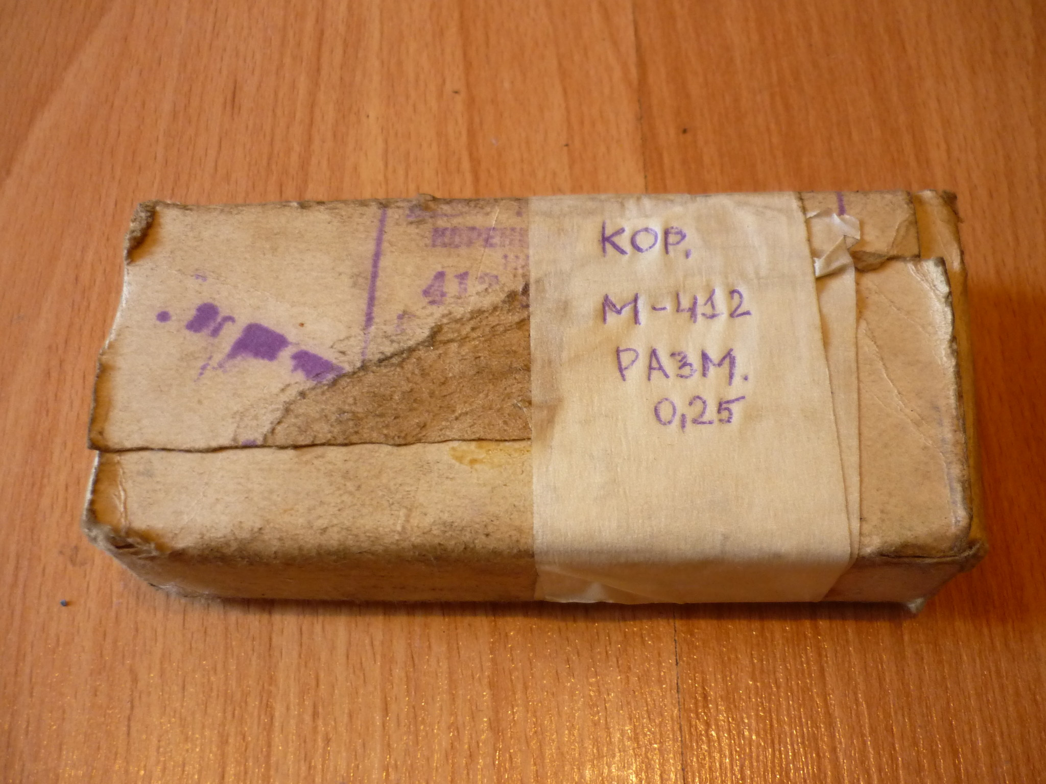 Вкладыши коренные Москвич 412