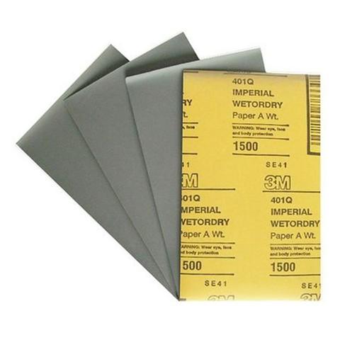 3M Лист 401Q  абразивный, микротонкий, 1500А, 138мм х 230мм 02048