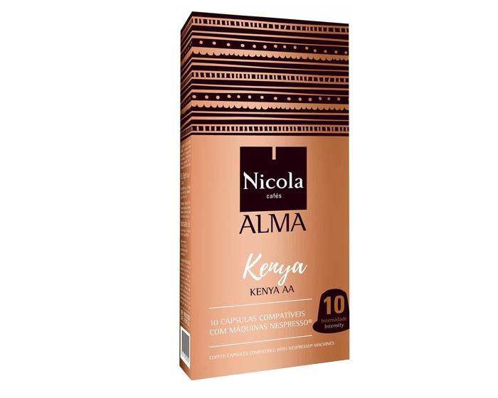Кофе в капсулах Nicola Alma Kenya