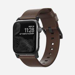Ремешок Nomad Modern Strap Apple Watch 40 / 38 мм коричневый / черный