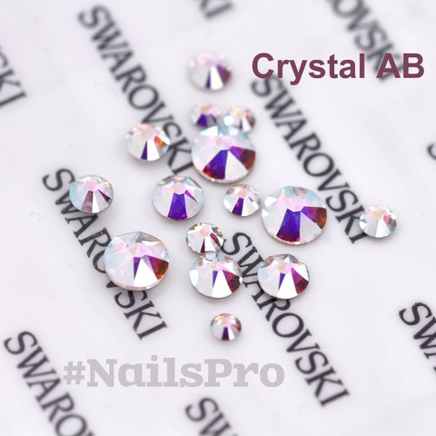 Стразы Сваровски Crystal AB 30 шт Art-A