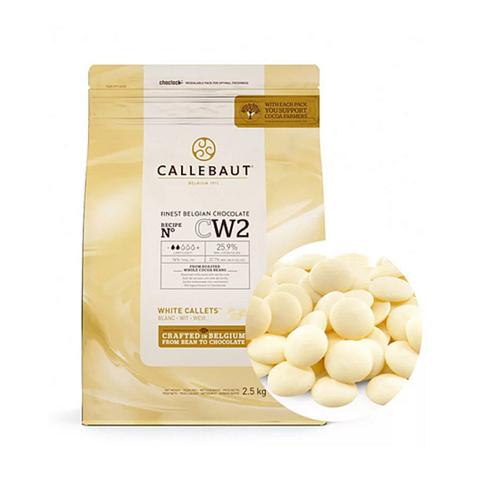 Шоколад белый Callebaut CW2 (25,9%), 100г.