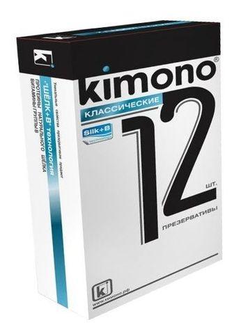 Классические презервативы KIMONO - 12 шт.